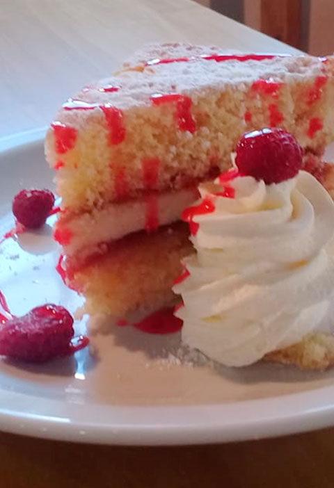Snowdonia Sponge Cake